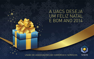 Ecard Boas Festas - UACS