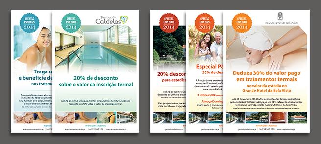 Termas de Caldelas e Grande Hotel Bela Vista - Criação de Suporte para as Campanhas 2014