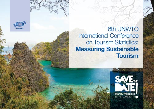 6th International Conference on Tourism Statistics: Measuring Sustainable Tourism